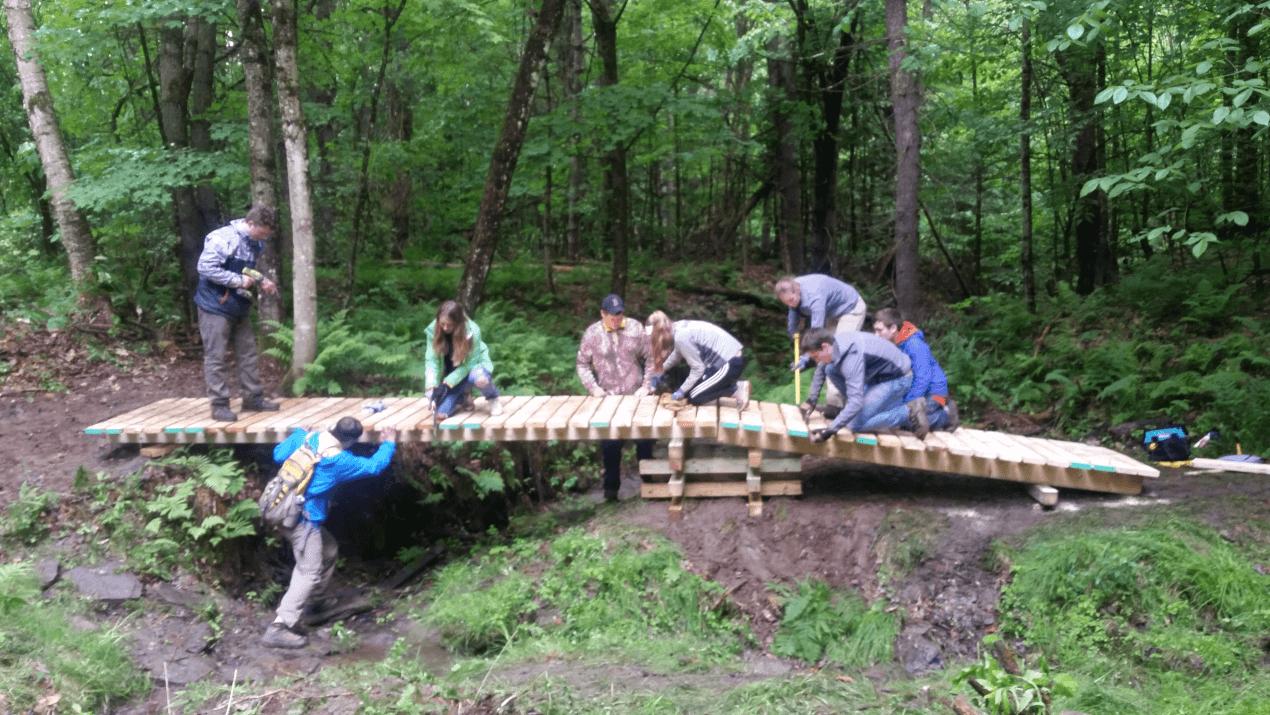 Cross Rivendell Bridges